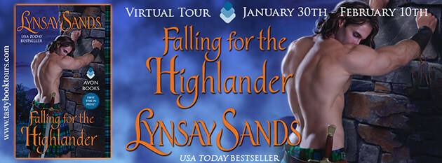 Tour: Falling for the Highlander by Lynsay Sands