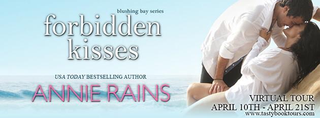 Tour Review & Excerpt: Forbidden Kisses by Annie Rains