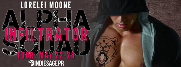 Exclusive Excerpt-Alpha Squad: Infiltrator by Lorelei Moone