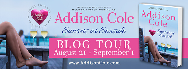 Sunsets at Seaside by Addison Cole - Exclusive Excerpt