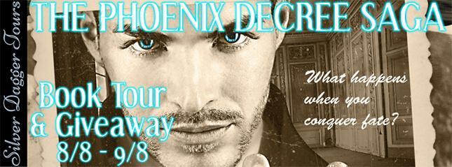 The Phoenix Decree by Anna Albergucci Exclusive Excerpt