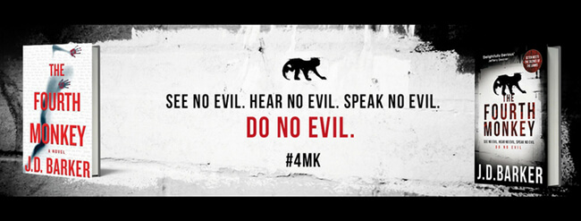Interview with J.D. Barker - Author of the 4MK Thrillers