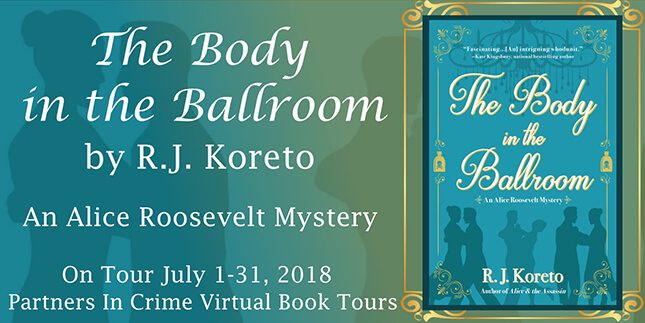 Sneak Peek: The Body in the Ballroom by R.J. Koreto
