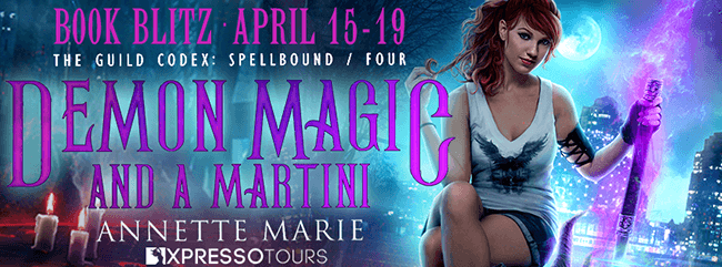 Demon Magic and a Martini  by Annette Marie