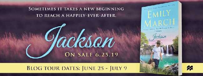 Q&A with Emily March - author of Jackson